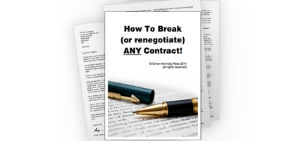 How to break any contract